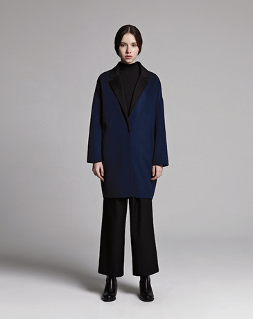 HAND MADE COAT (BLUE)